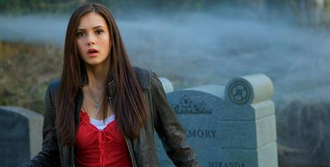 Nina Dobrev stars as Elena, a high schooler who is the object of two vampire brothers' affections, in Vampire Diaries. The new show airs Thursdays at 8 on Fox..