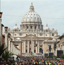 Miguel H. Diaz is nominated to serve as ambassador to the Vatican. Shown is Vatican Square.