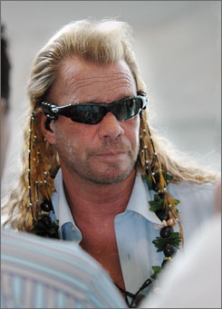 "Duane ""Dog"" Chapman appears in Honolulu back in 2006."