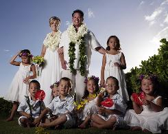 Jon and Kate, along with the 8: The Gosselins in Hawaii, where the parents renewed their vows.