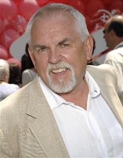 "John Ratzenberger, who has voiced a character in all 10 Pixar films, says he doesn't have a contract with the studio, just ""a handshake deal."""
