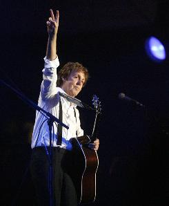 Ex-Beatle Paul McCartney will come full circle July 17-18 when he plays the inaugural concert at Citi Field, the Mets ballpark that replaces Shea Stadium.