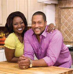 Partners in the kitchen and out: Gina and Pat Neely's new book, Down Home With the Neelys, includes family history and photos among more than 120 recipes.