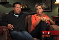Minus the 8: Jon and Kate Gosselin in the season premiere of their reality show.