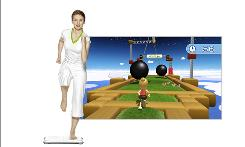 Wii Fit Plus users will be invited to take part in a variety of activities, including running an obstacle course.