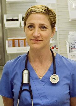 Edie Falco stars as Jackie Peyton, a smart and dedicated, but imperfect, nurse.