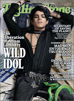 American Idol runner-up Adam Lambert discusses his sexuality in this week's Rolling Stone magazine.
