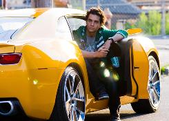 Bumblebee: It's the yellow car, not actor Ramon Rodriguez.