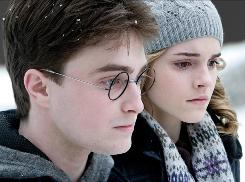 Big expectations: Daniel Radcliffe and Emma Watson in the sixth Harry Potter movie, which hits theaters July 15.