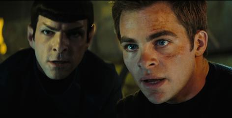 Hit: Zachary Quinto, left, and Chris Pine helped reboot the Star Trek franchise in the summer's biggest film of the summer so far, earning $233 million.