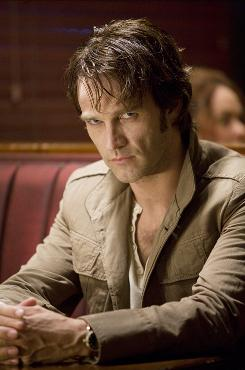 Stephen Moyer plays Bill Compton, the 173-year-old love interest of a waitress named Sookie on HBO's True Blood.