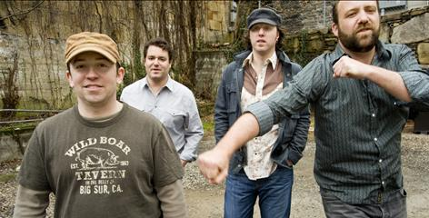 Andy Herrick, left, Reid Genauer, John Leccese and Adam Terrell of Assembly of Dust have a new CD, Some Assembly Required, out July 21.