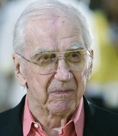 Ed McMahon, shown in July 2007, died Tuesday morning.