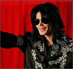 Michael Jackson died Thursday following a heart attack in Los Angeles.