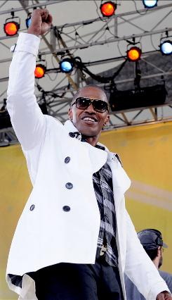 Oscar winner Jamie Foxx, who performed June 19 on Good Morning America, has the No. 7 song on the Hot R&B/Hip-Hop chart, Blame It, and he will host Sunday's BET Awards.