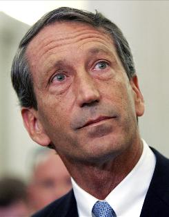 South Carolina Gov. Mark Sanford made a rambling admission in front of news conference.