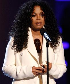 An emotional Janet Jackson addressed the crowd at Sunday's BET Awards and thanked Michael Jackson's fans for &quot;all of your love.&quot;