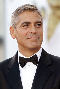 George Clooney has starred in films such as Ocean's Eleven, Michael Clayton and Syriana.
