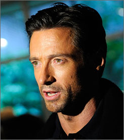 Hugh Jackman has starred in films such as Wolverine, X-Men and Australia.