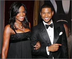 Usher and Tameka Raymond wed in 2007.