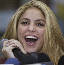 Shakira, 32, says she plans to focus on a family after the October release of her new album.
