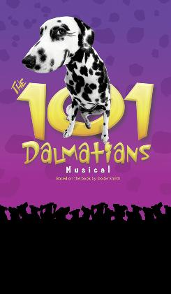 The 101 Dalmatians Musical , featuring live dogs, begins a national tour Oct. 13 in Minneapolis.
