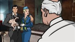 "The animated comedy  series Archer, due on FX in the fall, centers on  ""a jerk of a  spy."""