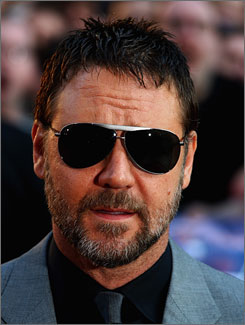 Russell Crowe has starred in films such as Gladiator and A Beautiful Mind.