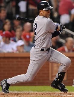All-Star player Derek Jeter of the Yankees scored two runs in the American League's 4-3 victory.