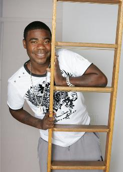 A big step up: Tracy Morgan, who has struggled with sobriety, now makes headlines for his career, including 30 Rock, Disney's G-Force and a new Kevin Smith comedy.