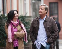 Lauren Graham is the chiropractor who manages to crack through God-knowing author Jeff Daniels' crusty shell.