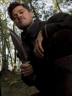 Fans at Comic-Con stood in line for hours to see a sneak peek of Brad Pitt in Inglourious Basterds.