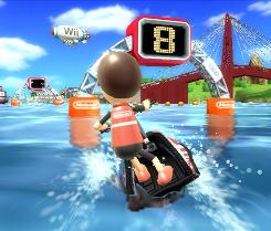 In Wii Sports Resort, power cruising is one of the new activities.
