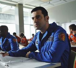 Exploratory mission: Cmdr. Maddux Donner (Ron Livingston) and crew prepare for six years in space aboard Antares.