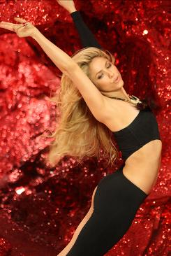 """I went crazy"" on the set: Shakira improvised her moves for the music video for She Wolf, the first single from her new album. ""I felt so inspired,"" she says. The video premieres Thursday on MTV."