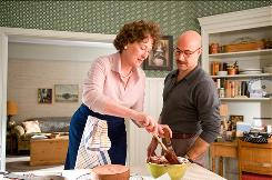Meryl Streep stars as Julia Child, and Stanley Tucci plays her husband, Paul.