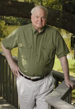 """I always needed one"": Pat Conroy's new novel also has something he lacked as a child  a loving father."