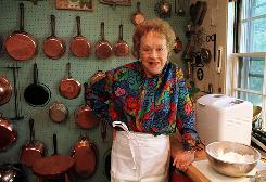 French cooking burst on the U.S. scene with Julia Child's cookbooks and TV programs. Her actual kitchen, copper pots and all, has a small role in the new film Julie & Julia, but it's a popular fixture at the National Museum of American History.