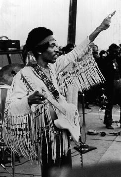 He got the big bucks: Jimi Hendrix was paid $32,000 to perform at Woodstock.