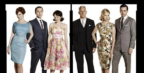 For a series that waited seven years to get from script to screen, it's been a whirlwind for Mad Men crew and cast, including Christina Hendricks, left, Vincent Kartheiser, Elisabeth Moss, John Slattery, January Jones and Jon Hamm.