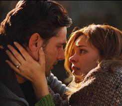 Together   for now: Henry (Eric Bana) is randomly transported to different times and away from his wife, Clare (Rachel McAdams).