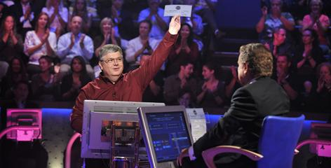 """I'm incredibly happy"": Eddie Lawhorn, an unemployed computer programmer from Huntsville, Ala., won $50,000 Sunday night on Who Wants to Be a Millionaire. Lawson represents the new breed of game-show contestants who are trying to get by in tough economic times."
