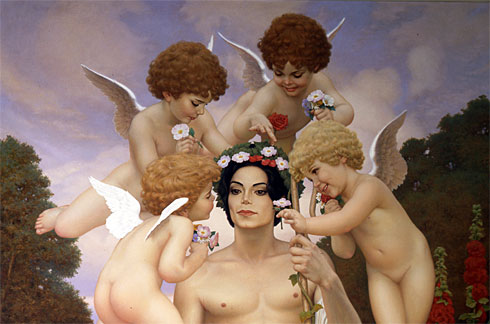 El pintor de Jackson, David Nordahl nos descubre a la persona real detrás de la estrella == Painting for Jackson, David Nordahl Discovered the Real Person Behind the Star