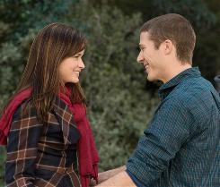 Just friends? Ryden (Alexis Bledel) thinks so, but Adam (Zach Gilford) has other ideas.