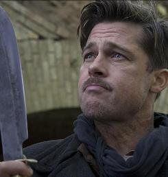 Inglourious Basterds, starring Brad Pitt, was No. 1 at the box office this weekend. Its $37.6 million take was the best opening ever for director Quientin Tarantino.