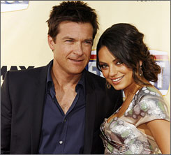Jason Bateman and Mila Kunis were the big names at Monday's premiere of Extract, in which he plays a factory owner facing problems in just about every aspect of his life.