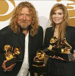 Trailblazers: Robert Plant and Alison Krauss helped popularize Americana with their multi-Grammy-winning album Raising Sand.