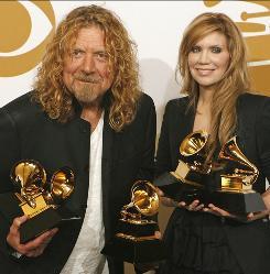 Trailblazers: Robert Plant and Alison Krauss helped popularize Americana with their multi-Grammy-winning album Raising Sand.
