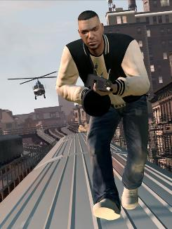 Bad boy: Luis Lopez does evil deeds for Gay Tony in GTA IV. He also takes part in death-defying action set pieces reminiscent of big-budget action movies.
