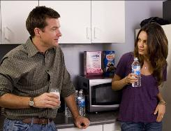Jason Bateman and Mila Kunis star in Mike Judge's new comedy, Extract.